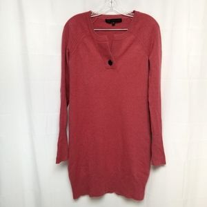 Marc Jacobs 100% Cashmere Sweater Dress Coral XS
